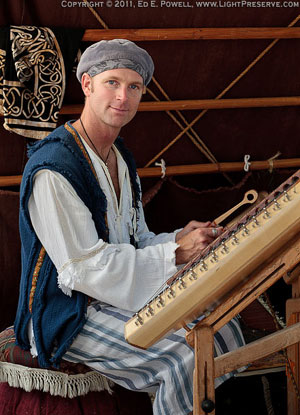 Hammered Dulcimer at Central Coast Renaissance Festival