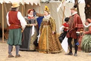 Lords And Ladies At the Central Coast Renaissance Festival